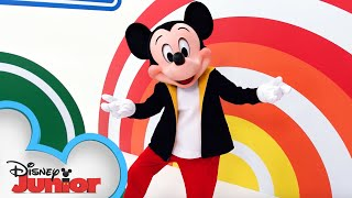 Hot Dog Dance Tutorial Part 2 💃🏿 | Mickey Mouse Mixed-Up Adventures | Disney Junior