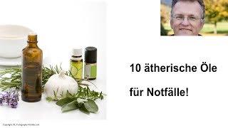 10 ätherische Öle für Notfälle