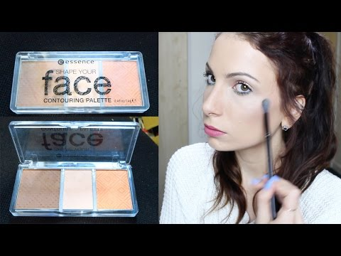 How To Contour And Highlight | Essence Contouring Palette | Drugstore Tutorial
