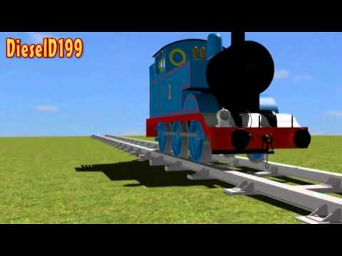 3D Thomas The Tank Engine Model Test 2