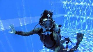 Shiya First dive
