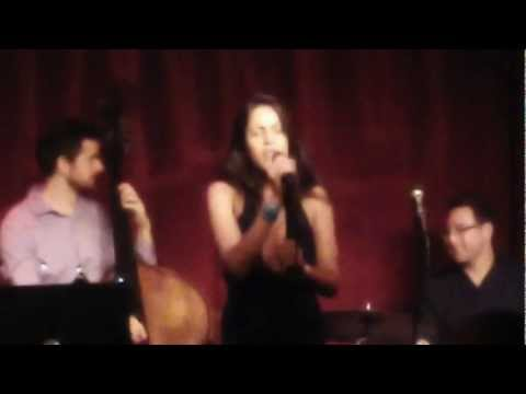 Mor Ben Yakir sings at Birdland NYC - Round Midnight (by Thelonious Monk)