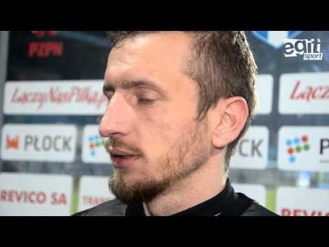 Wywiad z Łukaszem Jeglińskim po meczu Wisła Płock - Stomil Olsztyn