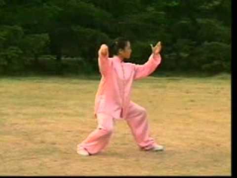 二十四式太极拳表演-高佳敏