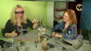 Лэмпворк (Lampworking) создание изделий из стекла . Штучная работа. Выпуск 3