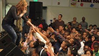 Demi Lovato - So Far So Great LIVE at Grape Street School @ 2010