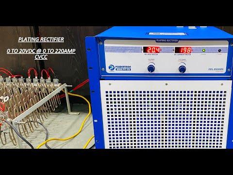 IGBT Based Electroplating Rectifier