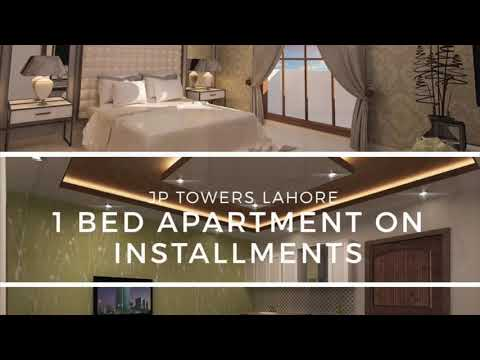 Bahria Town Lahoer 1 Bed Apartment in JP Towers, 2 Years Easy Payment Plan