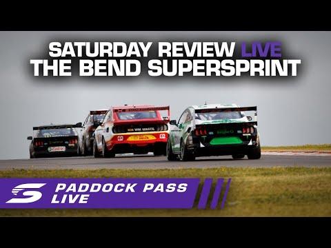 2020年 SUPERCARS OTRザベンド500 レース前のパドックの様子をおさめたパドック動画