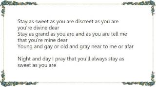 Faron Young - Stay as Sweet as You Are Lyrics