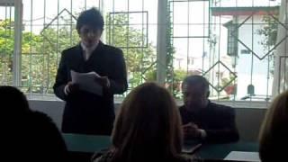 preview picture of video 'El discurso de grado más conmovedor del mundo'