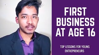 Before You Start A Business In High School WATCH THIS!
