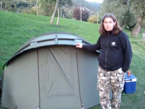 La tenda da Carpfishing