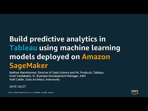 Build Predictive Analytics in Tableau Using Machine Learning ...