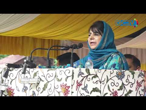 Tinkering with Article 35A will be like setting powder keg on fire: Mehbooba Mufti