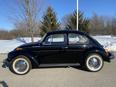1974 Volkswagen Super Beetle in Big Bend, Wisconsin - Video 1