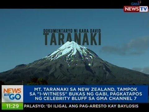 NTG: Mt. Taranaki sa New Zealand, tampok sa 'I-Witness' bukas ng gabi sa GMA Channel 7