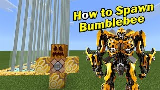 HOW TO SPAWN BUMBLEBEE | Minecraft PE
