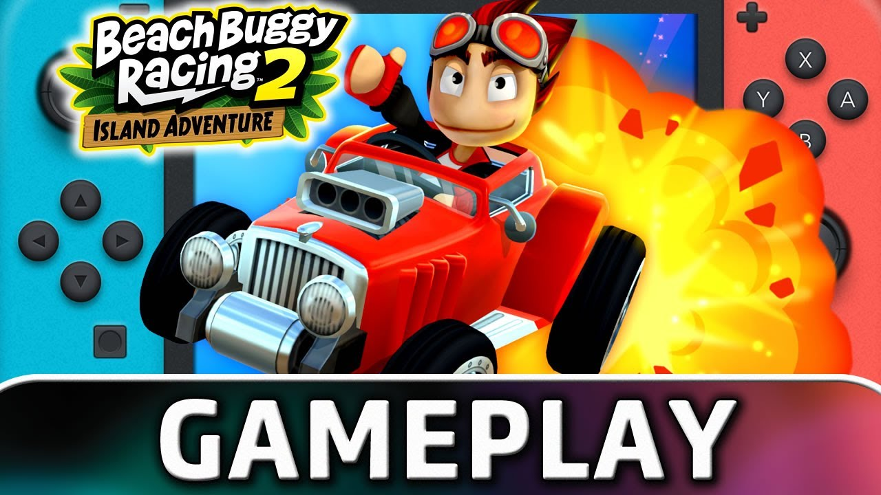 Beach Buggy Racing 2: Island Adventure | Nintendo Switch Gameplay