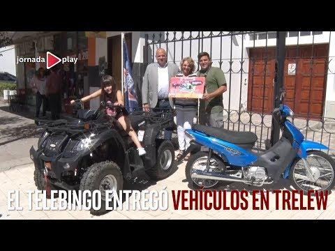 El Telebingo entregó vehículos en Trelew