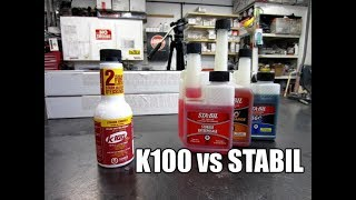 K100 vs Stabil Fuel Stabilizer - Which One Controls Moisture?