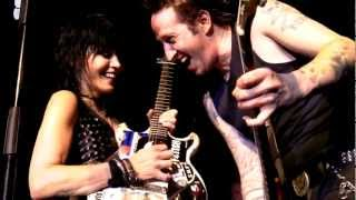 Joan Jett and The Blackhearts - ACDC and Everyday People Tulsa 2012 HD HQ