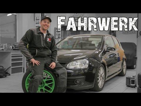 OK-Chiptuning - VW Golf 5 GT 2.0TDI  |  H&R Gewindefahrwerk