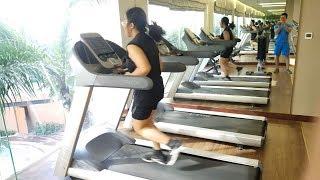 Chạy Máy Chạy Bộ Như Thế Nào Để Giảm Mỡ Hiệu Quả Cùng Bình - 1km 10 Phút - Rất Khó Khăn - Ryan Long