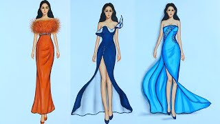 Fashion Illustration Compilation (speed Drawing)