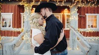 Rustic Barn Wedding Video For Andrea & Tylers Linden Utah Wedding Videographer