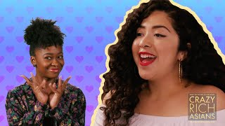 Freddie Sets Maya Up On Blind Dates With Guys And Their Moms // Presented By Crazy Rich Asians