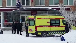 В результате резни в школе в Перми ножевые ранения получили 15 человек