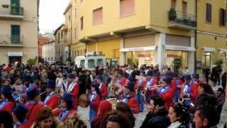 preview picture of video 'Banda Folkloristica La Velocissima di Rignano Flaminio (Rm) - Orbetello (Gr) 2012'