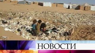 В сирийском лагере для беженцев «Рубкан» десятки тысяч людей выживают в нечеловеческих условиях.