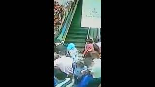 Escalator Overload in Shopping Mall Malaysia
