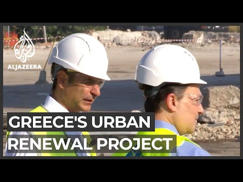 Greece economy: Europe's biggest urban renewal project launched