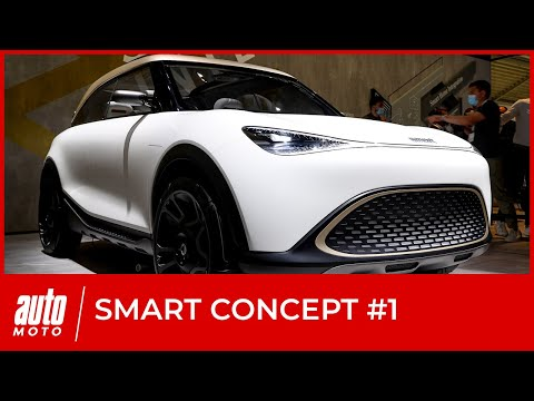 Smart Concept #1 : premières infos sur le SUV du renouveau