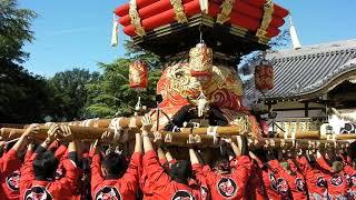 大窪八幡宮 秋祭り