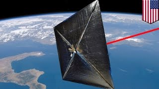 Laser propulsion: NASA's laser-powered spacecraft will fly to Mars in 72 hours - TomoNews