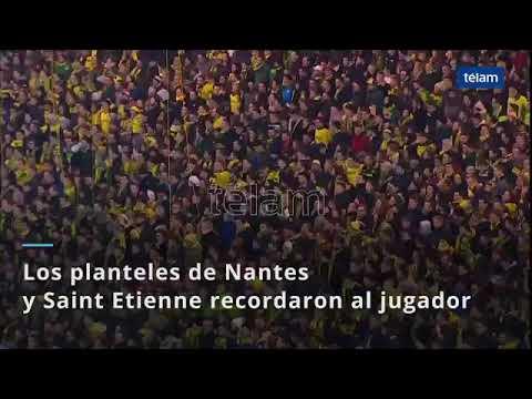 El emotivo homenaje en Nantes a Emiliano Sala