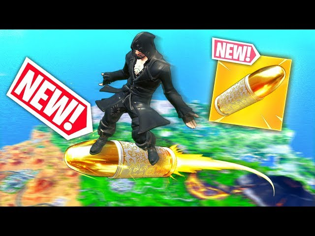 *NEW* BULLET SURFING OP TRICK!! - Fortnite Funny WTF Fails and Daily Best Moments Ep.1050
