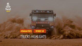 DAKAR2021 - Stage 10 - Neom / AlUla - Truck Highlights