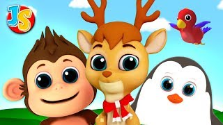 Animal Song For Kids | Nursery Rhymes & Baby Songs For Children By Junior Squad