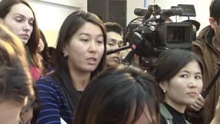 Президент КР ответил на вопросы журналистов