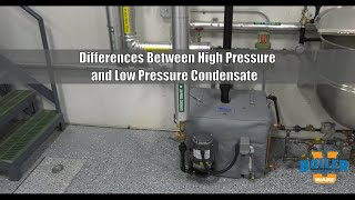 Difference Between High Pressure and Low Pressure Condensate