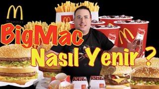 Big Mac Nasıl Yenir  ? Mc Donald's Özel Sipariş  Bir Nevi Mukbang