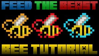 Minecraft Mods Bees Tutorial: From Start To Automation (Modded FTB Forestry)