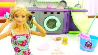 Барби на дискотеке, а Кен в командировке. Видео для девочек.