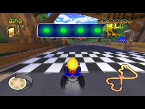 Pac-Man World Rally (PS2 Gameplay)