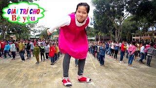 BÉ TẬP MÚA HÁT SÂN TRƯỜNG CHO HỌC SINH | Young school dance school students ♥ Giai tri cho Be yeu